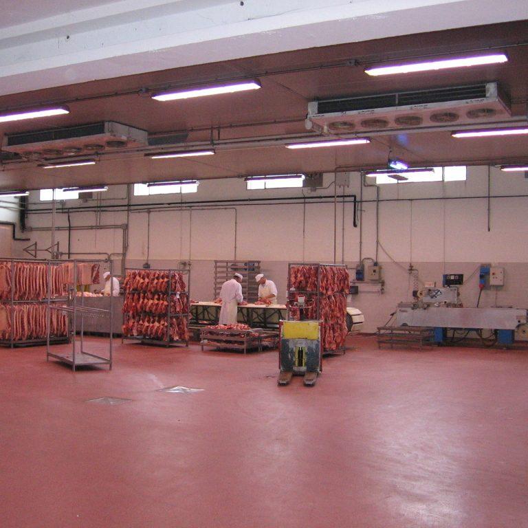 impianto di condizionamento sala lavorazione Brugnolo