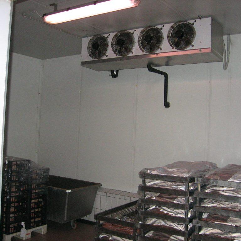 impianto di raffreddamento cella 0-¦C