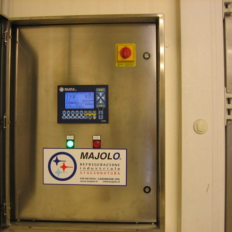 quadro elettrico gestione asciugamento industriale Coppiello